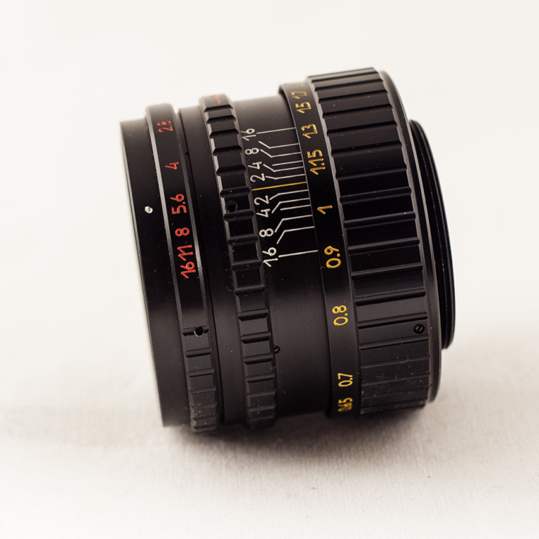 Helios 44-3 side
