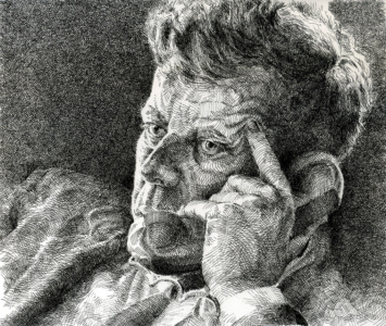 Portrait of Kennedy